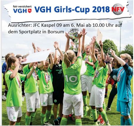 VGH Girls CUP 2018 Borsum